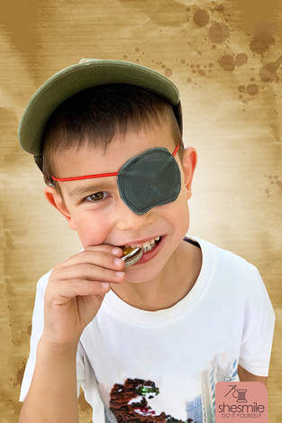 Augenklappe für die Piratenparty!