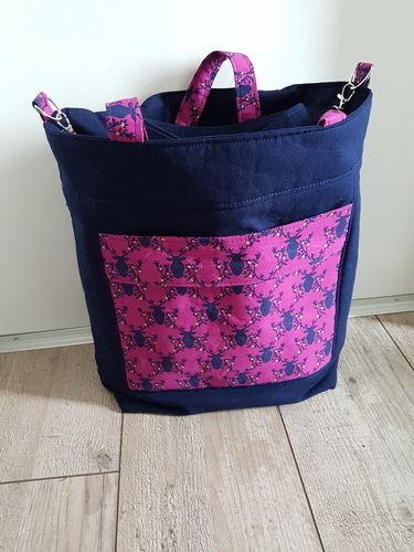 Makerist - Tasche bucket bag jenna  - Nähprojekte - 1