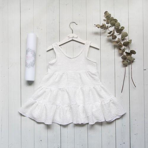 Makerist - Taufkleid (Kleid Cannes) für 3 Jährige - Nähprojekte - 1