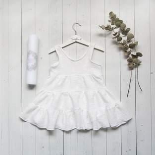 Taufkleid (Kleid Cannes) für 3 Jährige