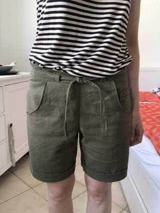 """Shorts """"Pastinaca"""" aus Leinen für mich"""
