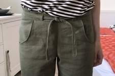 """Makerist - Shorts """"Pastinaca"""" aus Leinen für mich  - 1"""