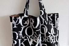 """Makerist - Einkaufstasche """"Buchstaben in Schokolade""""  - 1"""