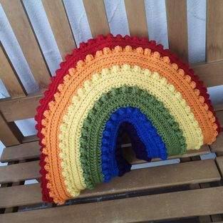 Makerist - Pride Regenbogen Kissen - 1