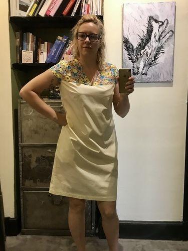Makerist - Robe d'été col V - Créations de couture - 1