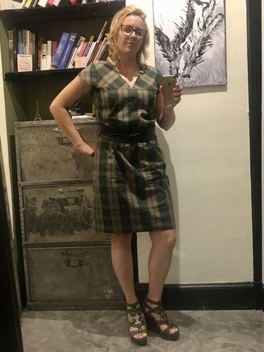 Makerist - Robe d'été col V - Créations de couture - 3