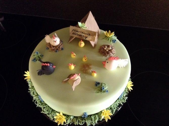 Makerist - Hühnerhof - Torten, Cake Pops und Cupcakes - 1