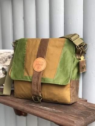 Makerist - Nakoa Quadratische Handtasche Schnittmuster&Nähanleitung - 1