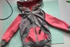 Makerist - Sweatjacke für meine Kleine  - 1