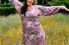 Makerist - Blumiges Herbstkleid Lilly aus Viskosejersey  - 1