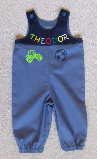 Baby- Trägerhose