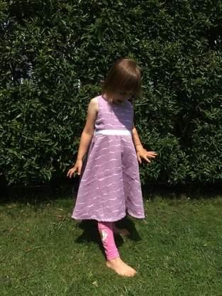 Sommerkleid Eleara aus musselin