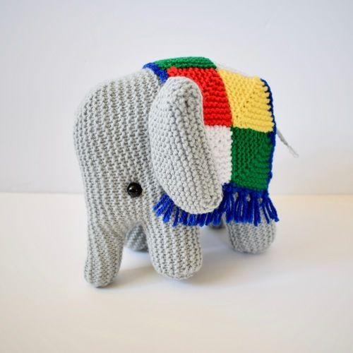 Makerist - melly the elephant - Knitting Showcase - 1