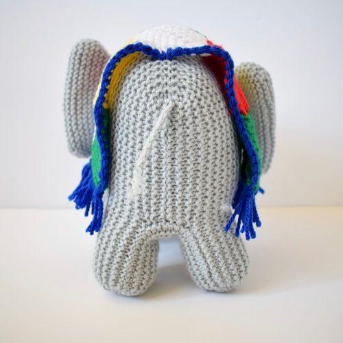 Makerist - melly the elephant - Knitting Showcase - 3