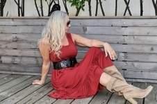 Makerist - Mira Knielang mit Volant  - 1