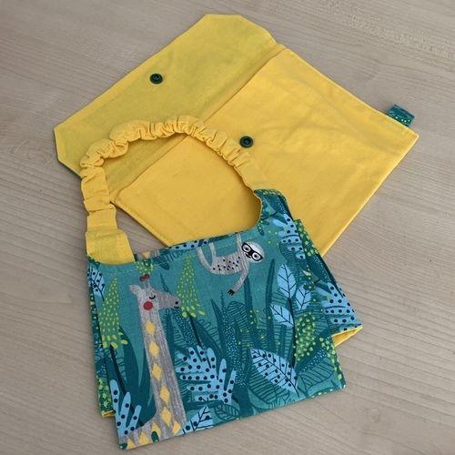 Makerist - Serviette elastiquée & sa pochette MATAIVA - Créations de couture - 2