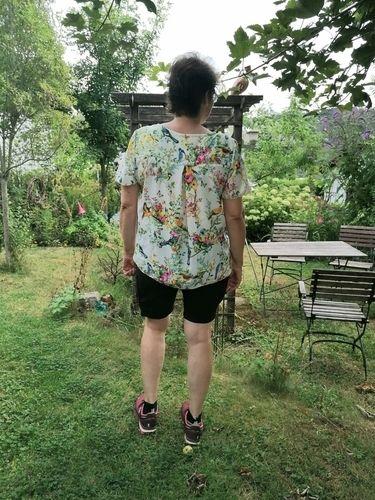 Makerist - Bluse Clariella , sieht edel aus und ist schnell genäht - Nähprojekte - 2