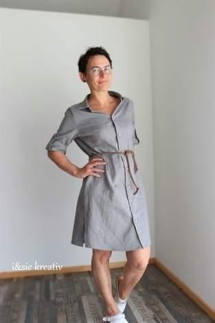 Blusenkleid Azora von Schnittmusterlounge