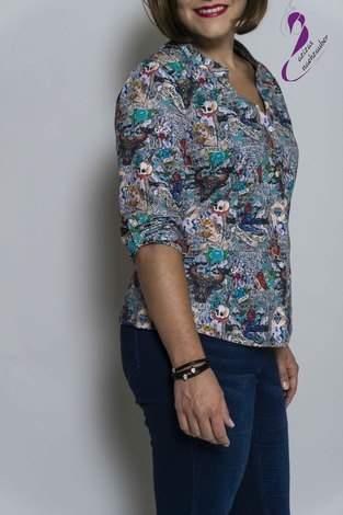Bluse Azora von Schnittmusterlounge