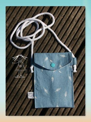 Makerist - Einfache Handytasche nach Anleitung von Mondgöttin - Nähprojekte - 1