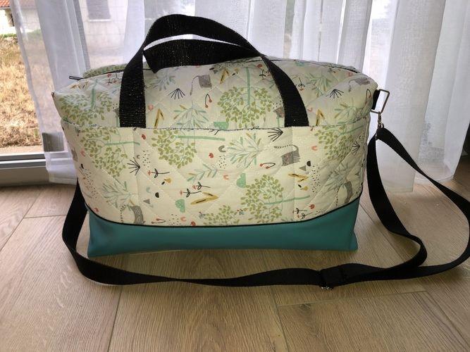 Makerist - Le sac georges - #makeristalamaison - 2