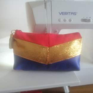 "Makerist - Ma trousse mathilde ""wonder woman""  - 1"