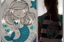 Makerist - Doodle Meerjungfrau  - 1