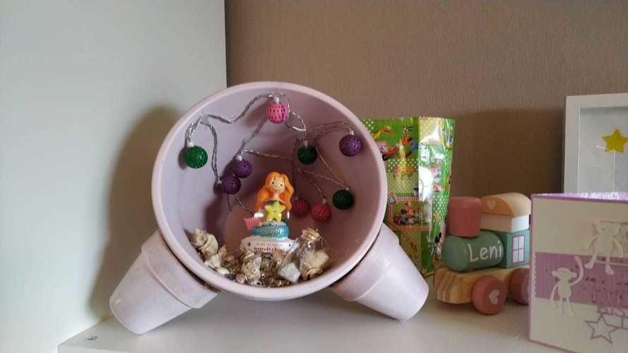 Makerist - Blumentopflampen  - DIY-Projekte - 1