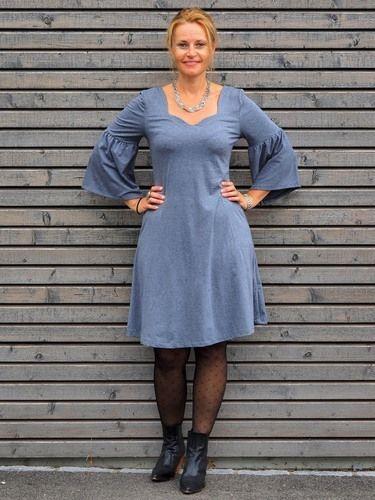 Makerist - Feminines Kleid mit Herzausschnitt - Flora - Nähprojekte - 1