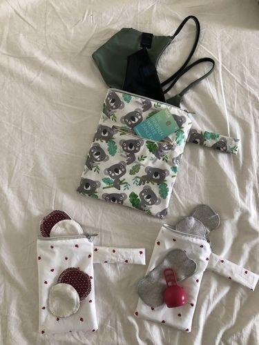 Makerist - Super Aufbewahrung für Bikinis, Slipeinlagen und Wattepads - Nähprojekte - 1