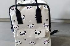 Makerist - Sac César, Panda, enfant - 1