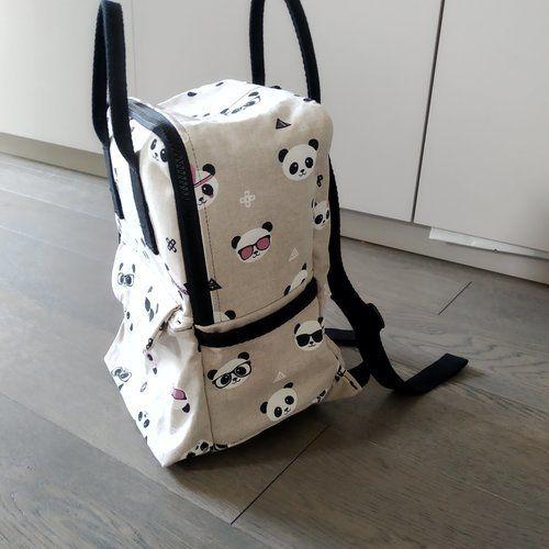Makerist - Sac César, Panda, enfant - Créations de couture - 2