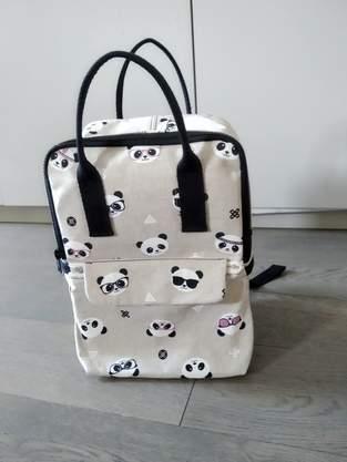 Makerist - Sac César, Panda, enfant - 1