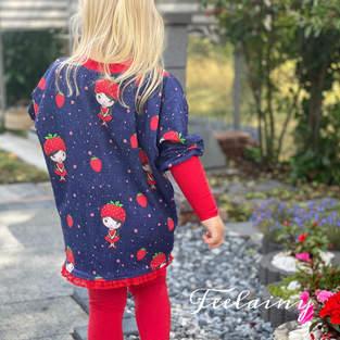 Super süßes Pumpshirt für Mädchen ❤️