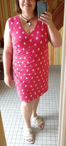 Makerist - Robe cache-coeur  version été - Créations de couture - 1