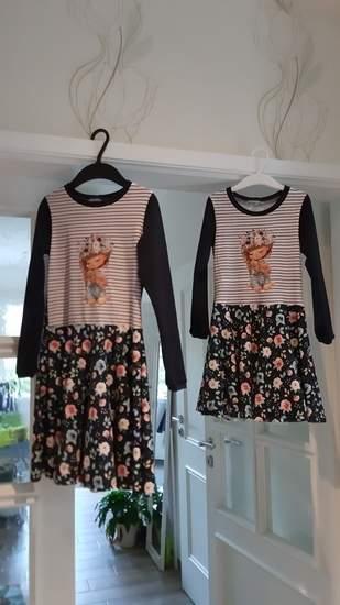 Kleid Mary Lou im Doppelpack  110 & 128