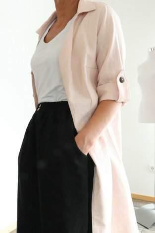 Bluse Azora in Kombination mit Culotte Bloom