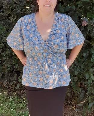 Makerist - Blouse cache-coeur - 1