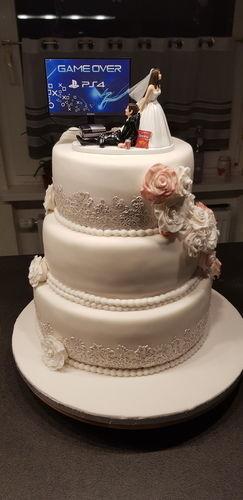 Makerist - Hochzeitstorte für mein Bruder - Torten, Cake Pops und Cupcakes - 1