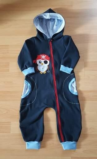 Makerist - Jolly Jumper Pirateneule für meinen kleinen Pirat - 1