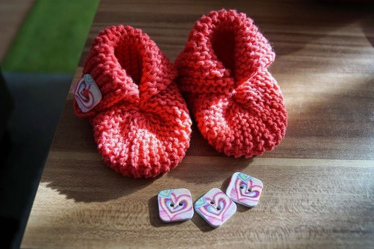 "Makerist - Babybootie ""lovely"" - Strickprojekte - 1"