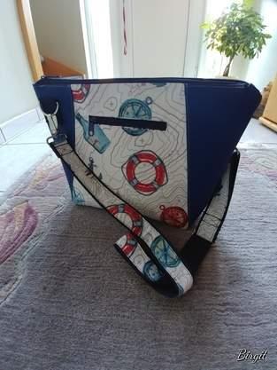 Makerist - Tasche HOLLY im maritiemen Stil - 1