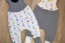 Makerist - Babystrampler für kühlere Sommertage - 1
