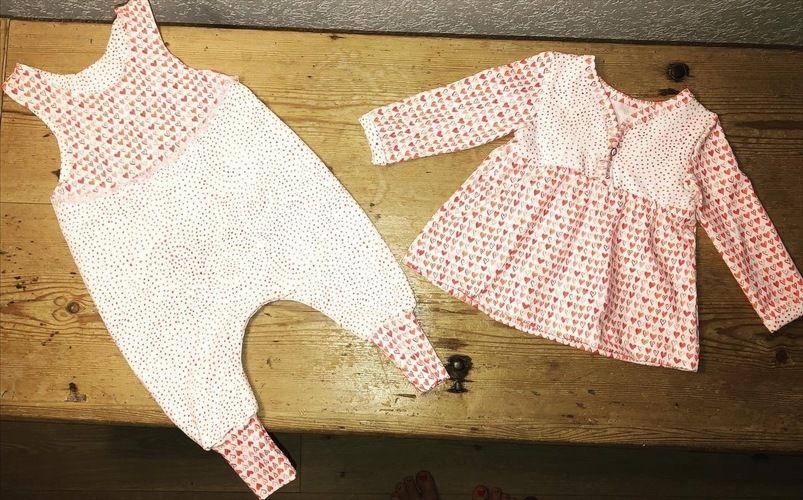 Makerist - Herziger Babystrampler und Tunika - Nähprojekte - 1