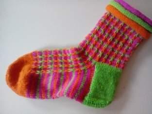 Makerist - fröhliche Socken :-)  - 1