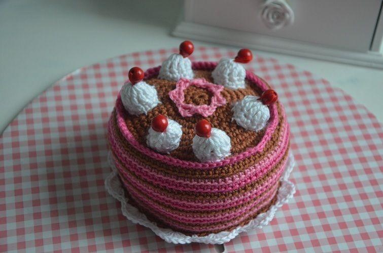Makerist - Gehäkelte Torte - Häkelprojekte - 1