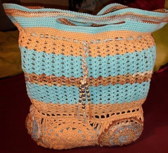 Makerist - Gehöckelte Tasche - Häkelprojekte - 1