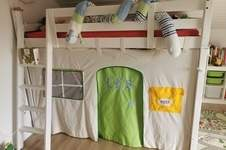 Makerist - Hochbett Häuschen für meinen Sohn - 1