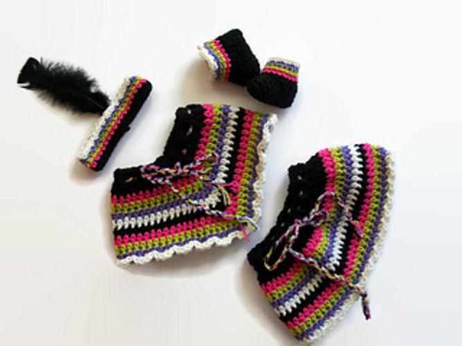 "Makerist - 18"" Indian Doll Costume - Crochet Showcase - 2"