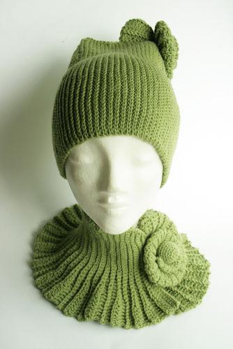 Makerist - Der winter wird stylish :-) Mütze und Halswärmer mit Schnecke - Häkelprojekte - 2